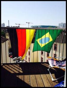 Flag Germany Brazil