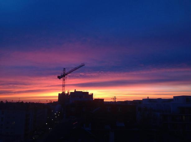 Frankfurt evening