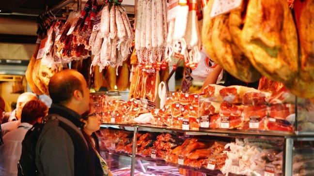 Mercat de Sant Josep de la Boqueria Barcelona
