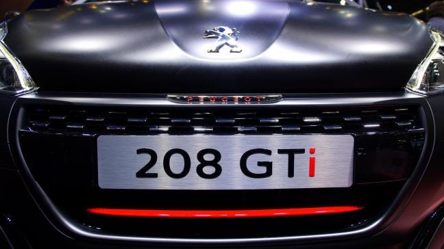 Peugeot 208 GTi IAA 2015