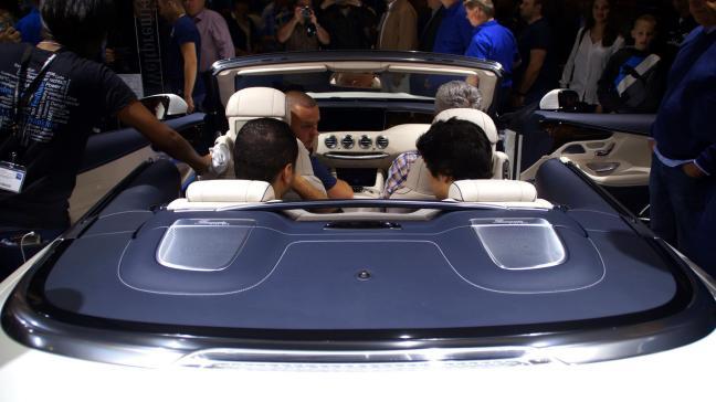 Mercedes Benz S Coupe Convertible