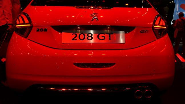 Peugeot 208 GT IAA 2015