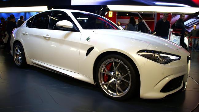 Alfa Giulia white
