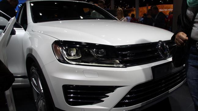 VW Tuareg R IAA 2015