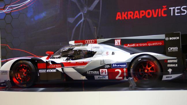 Akrapovic Audi e-tron