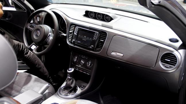 VW Beetle Cabrio IAA 2015