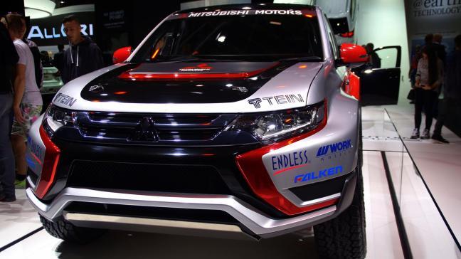 Mitsubishi 2015 IAA