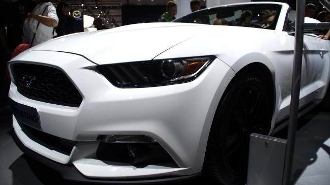 Ford 2015 IAA Mustang Convertible
