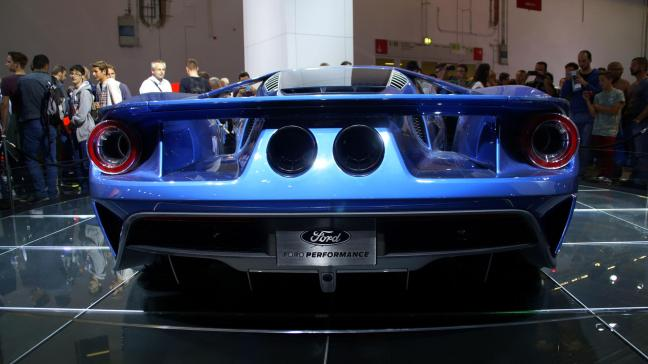 Ford 2015 IAA performrance